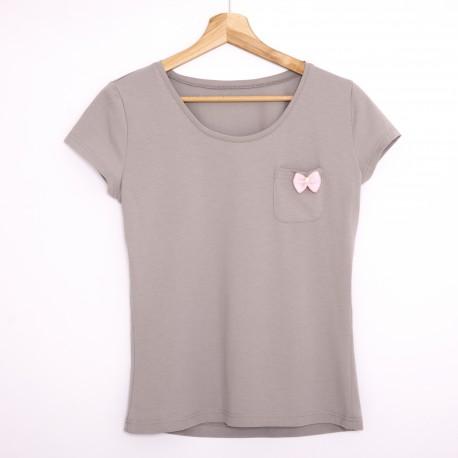 Tshirt gray/pink