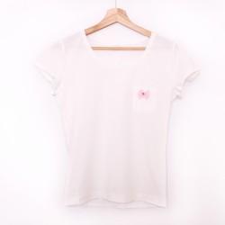 Tshirt white/pink