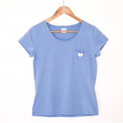 Tshirt blue/white