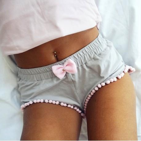 Szorty gray/pink